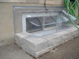 option 19 window wells and window well covers